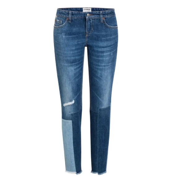 Cambio Laurie Constrast Jeans